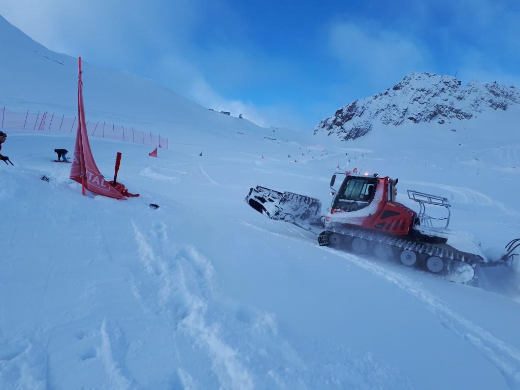 Voller Einsatz beim Skicross